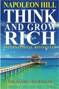 Think and Grow Rich - Napoleon Hill Hard Cover Book